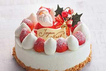北海道産生クリームをふんだんに 使ったいちごのショートケーキ ¥3,500~