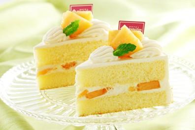 数量限定 夕張メロンのショートケーキ【6・7月】