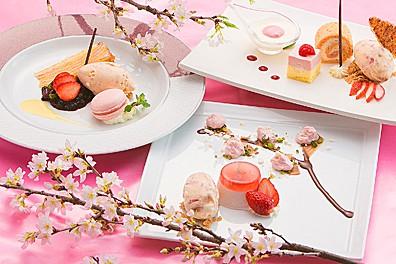 選べる桜デザート
