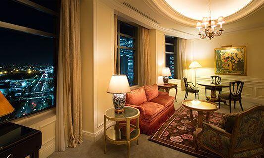 luxurious hotel